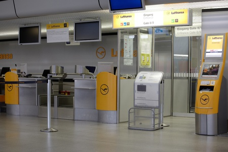 Strike at Lufthansa - UFO, Berlin Tegel Airport, Friday, 07 09 2012