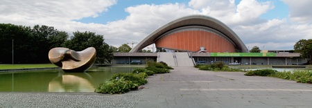 House of Culture in the world, Tiergarten, Berlin, Germany