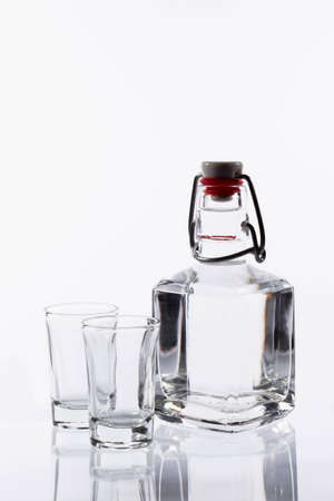 Bottle isolated on a white background