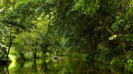 beautiful scenery pictures from Spreewald, Germany