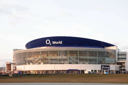 O2 world Arena in Berlin is since 2008 the home ice arena for  Berlin  English  Berlin Polar Bears   Editorial