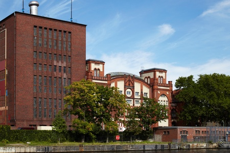 orte: industrial building - Impressiones from Berlin along the Spree, Germany