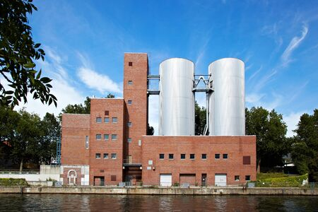 industrial building - Impressiones from Berlin along the Spree, Germany