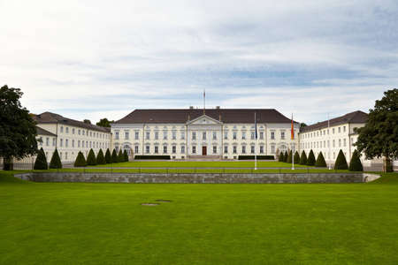 mensch: Schloss Bellevue has been the official residence of the President of Germany since 1994