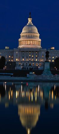 Capitol Building at Sunset