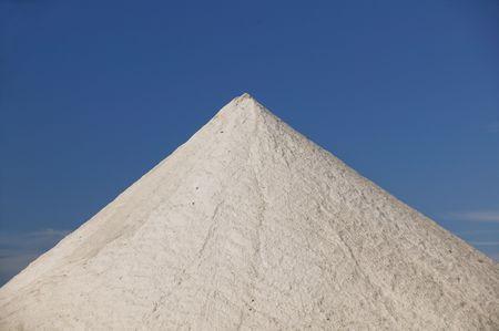 Large Mountain of Salt as a Salt Mine