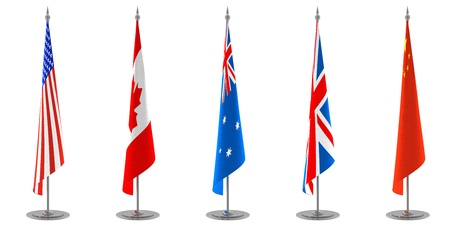 united kingdom: Table Flags Collection