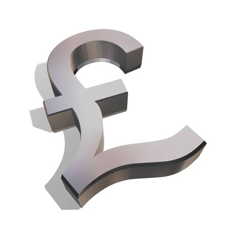 Pound Sterling Stock Photo