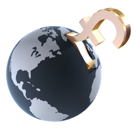 Pound Sterling Globe