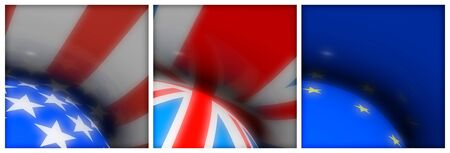 US UK EU Flag