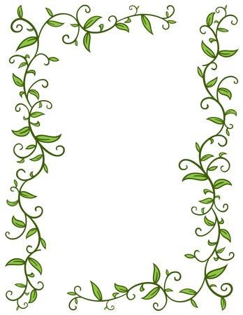 Leaves Frame Stock Vector - 17290555