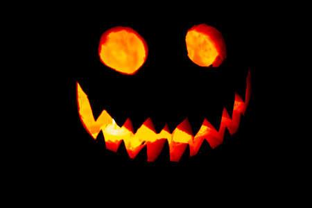 Carving the pumpkin is always the best part of Halloween. Zdjęcie Seryjne