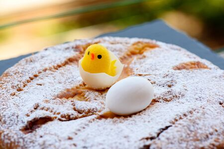 Neapolitan Pastiera (Easter cake)