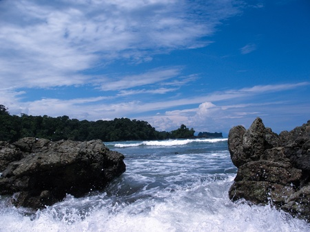 rushing water: Rushing Water, Manuel Antonio Beach