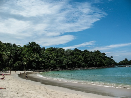 costa: Manuel Antonio Beach, Costa Rica