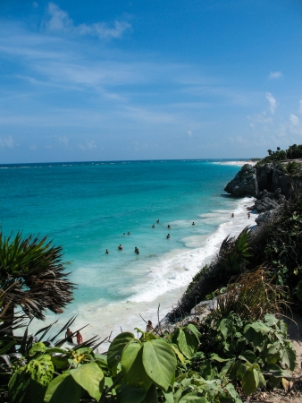 Yucatan Coastline