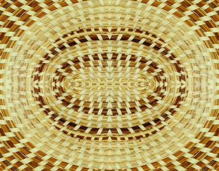 Woven basket background design