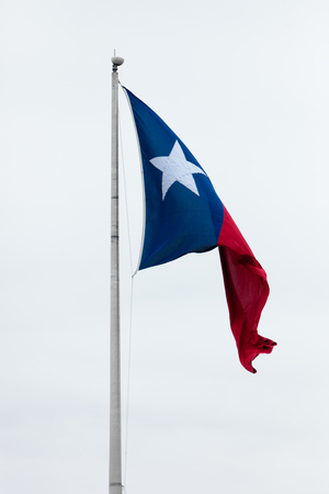 texas flag waving