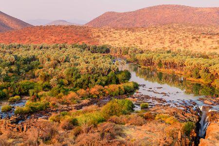 Epupa falls and Kunene River, Namibia