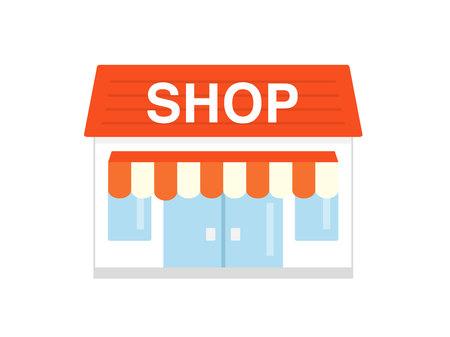 Shop icon 写真素材 - 118614545