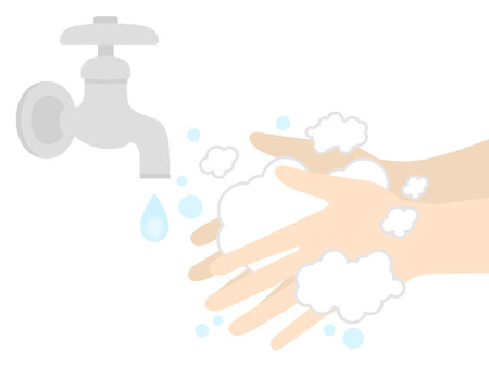 Wash your hands Illustration