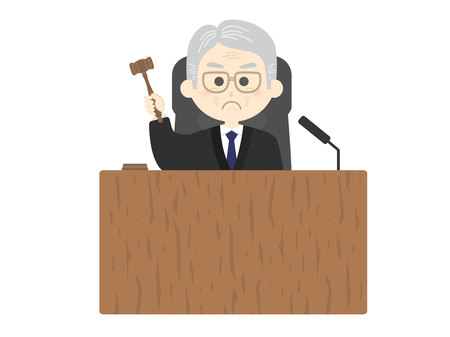 the Judge 写真素材 - 123533873