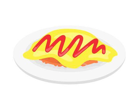 Rice omlet