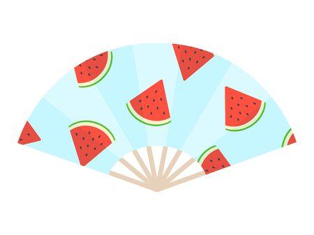 Hand fan Illustration