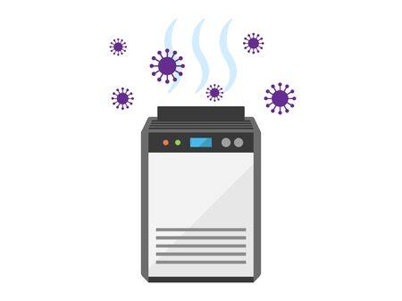 Air cleaner Illustration