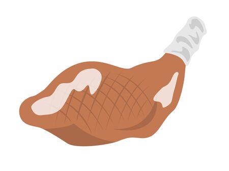 Roast chicken Ilustração