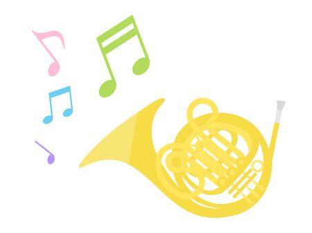 Musical instrument  イラスト・ベクター素材