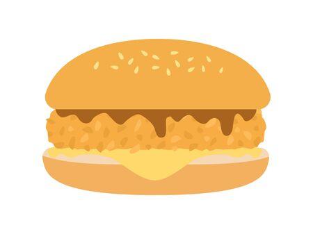 Hamburger Foto de archivo - 126406024