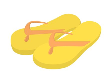 Illustration of beach sandals