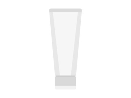 Illustration of cosmetics. Illustration of the tube.
