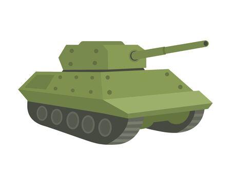 Illustration of the tank.  イラスト・ベクター素材