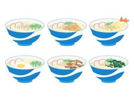Udon Illustration