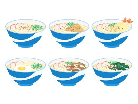 Udon Stock Illustratie
