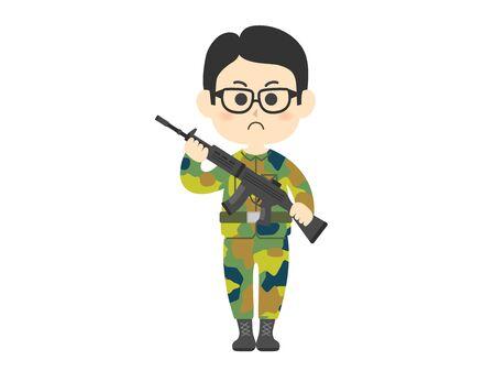 Army  イラスト・ベクター素材