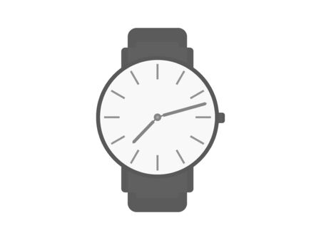 Illustration of the watch. Illustration