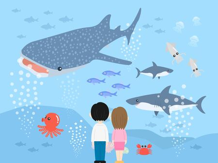 Aquarium Illustrations