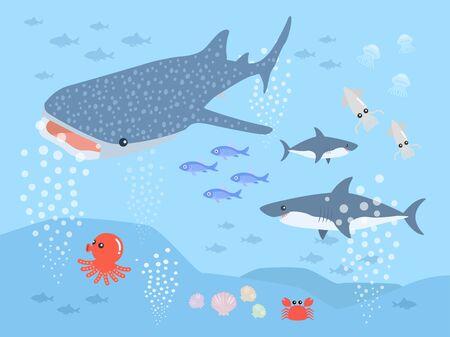 Aquarium Ilustração