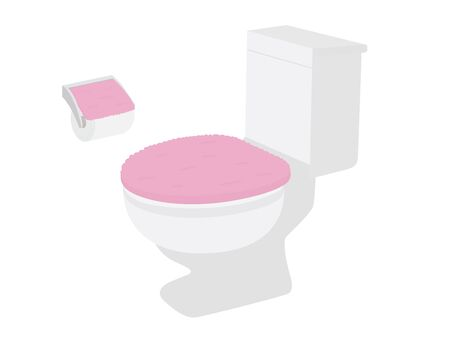 Illustration of toilet