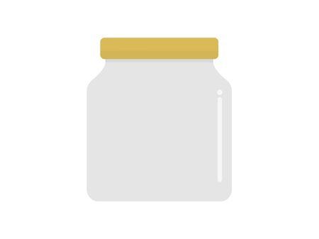Illustration of an empty bottle