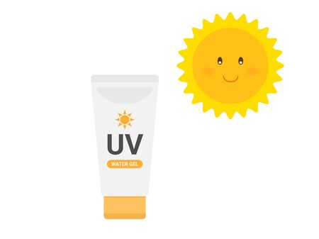 Sunscreen Illustrations