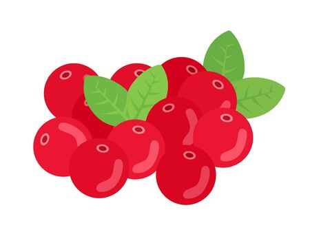 Illustration of red berry