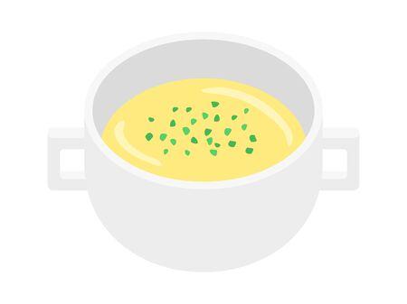 Corn Soup Illustrations