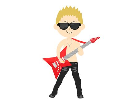 Rock Musician Illustrations