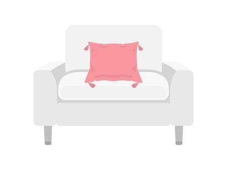 Single Sofa Illustration