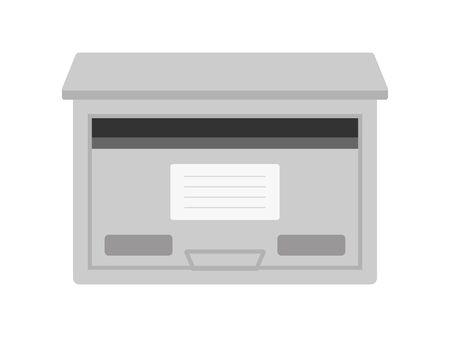 Mail box  イラスト・ベクター素材