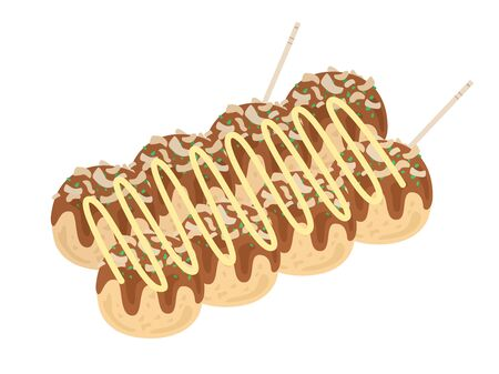 Takoyaki Illustrations Illustration